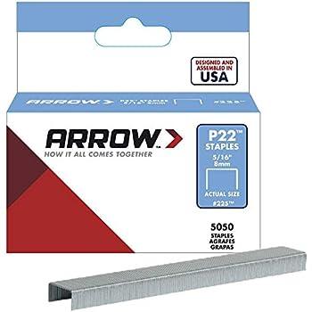 Arrow Fastener P22 Heavy Duty Plier Type Stapler with 3 pack of staples