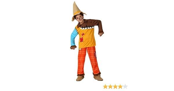 Atosa - Disfraz de espantapájaros para niño, talla 7-9 años ...