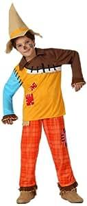 Atosa - Disfraz de espantapájaros para niño, talla 7-9 años (8422259160922)