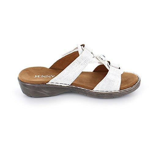 Jenny 22-57268-70 - Zuecos para mujer Weiß