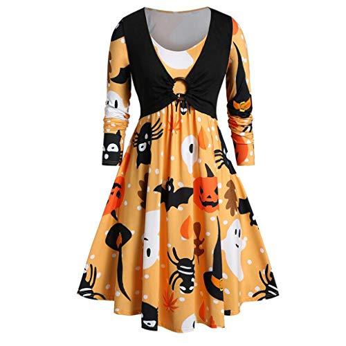 Lion King Group Costumes - iLOOSKR Halloween Dress Women Vintage Long