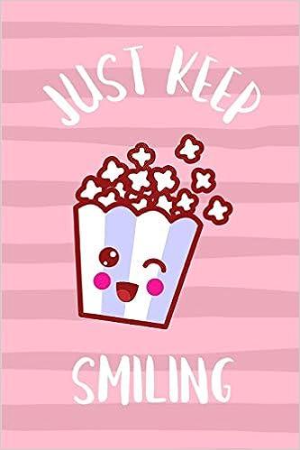 Popcorn kawaii. Just keep smiling cute