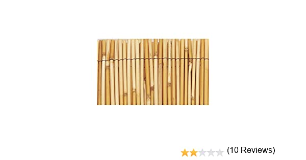 Faura 1x5m - Bambu Natural: Amazon.es: Jardín