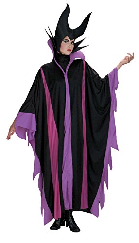 [Disguise Womens Evil Queen Wicked Wear Maleficent Deluxe Disney Fancy Costume, One Size (Up To 16)] (Disney Evil Queen Deluxe Adult Plus Costumes)