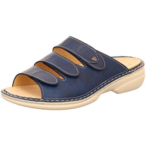 Comfort Finn Mujer Azul Zuecos 243389 02554 Para Pw8ndqzp8B