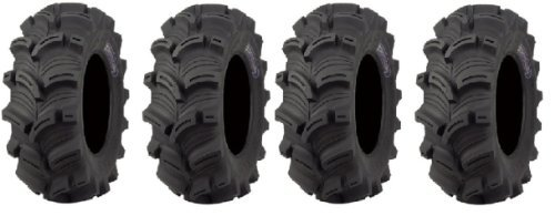 - Full set of Kenda Executioner (6ply) 25x8-12 and 25x10-12 ATV Tires (4)