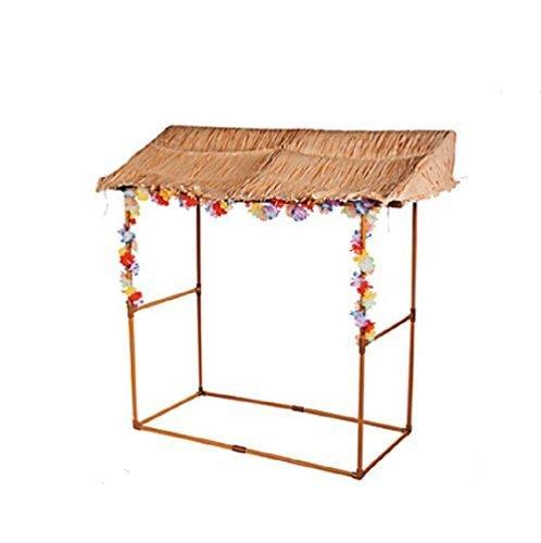 Tabletop Tiki Hut Decoration