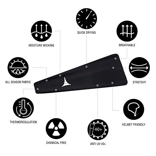 French Fitness Revolution Mens Headband - Guys Sweatband & Sports Headband for Running, Crossfit, Working Out and Dominating Your Competition - Performance Stretch & Moisture Wicking by French Fitness Revolution (Image #5)