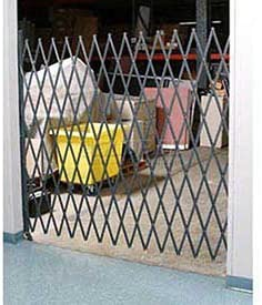 6-1 2 W Single Folding Security Gate, 6-1 2 H