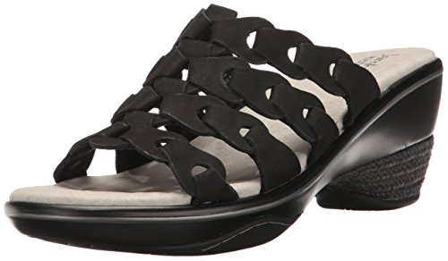 (Jambu Women's Romance Platform Sandal, Black Earth, 8.5 M US)