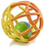 Hugine Flashing Soft Ball Rattles Baby Gym Ball Softballs Colorful a Activity Toy Soft Ball with Light & music for Little Baby Outnd Tactiledoor Indoor Kids Fun Play Game Gift