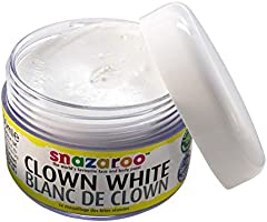 Snazaroo - Pintura facial Clown, 50 ml, color blanco