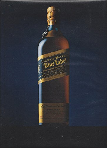 2 Page **PRINT AD** For 2006 Johnnie Walker Blue Label A Blend of Our (Label Blend)