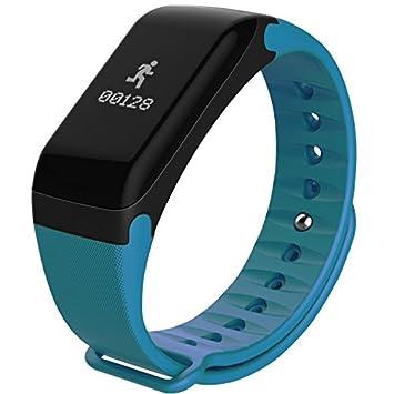 Pulsera de actividad smart watch kalorias multifunc: Amazon.es: Deportes y aire libre