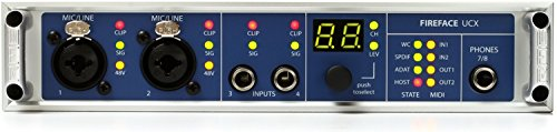 RME Fireface UCX 36 Channel 24 Bit 192kHz High-End USB and FireWire Audio Interface