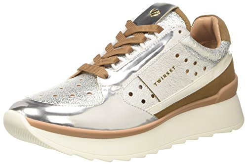 Twinset Argento Milano Sneaker Cs8pkc Donna rnrvHIq