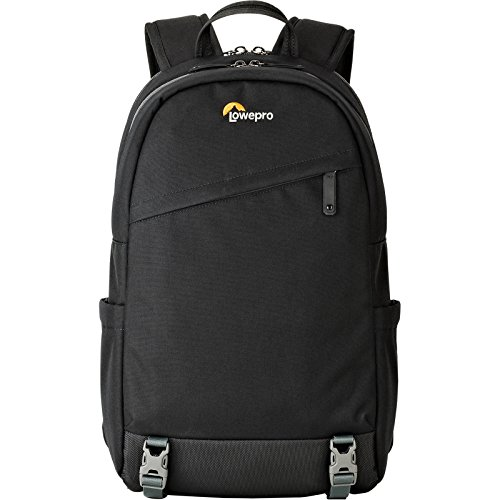 Lowepro m-Trekker BP 150. Weather Resistant Travel Backpack for Mirrorless Cameras and Camera Accessories (Black)