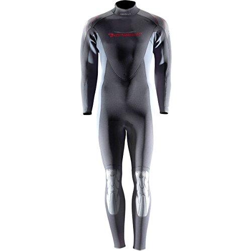 (AKONA Men's Quantum Stretch Full Wetsuit, 3mm/4X-Large)