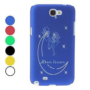 conseguir Ángel del caso del patrón duro noctilucentes para Samsung Galaxy Note N7100 2 (colores surtidos) , Amarillo