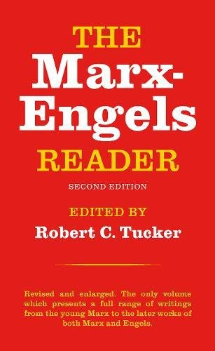 The Marx-Engels Reader (Second Edition) cover