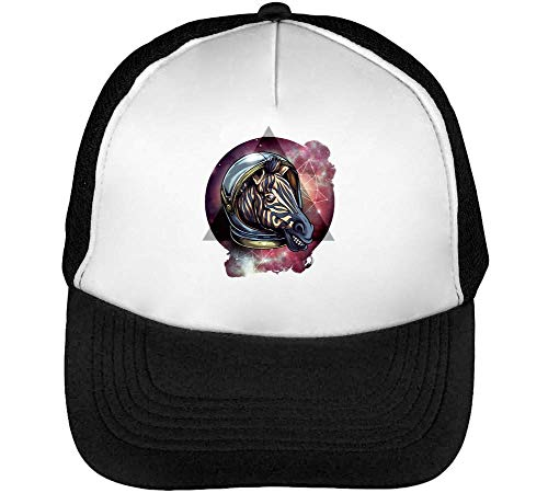 Beisbol Cosmic 1GD Hombre Gorras Snapback Blanco Astronaut Negro Zebra xYqfqw4Sd