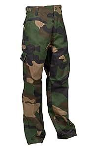 McAllister infantil de camuflaje pantalones de camuflaje - talla S