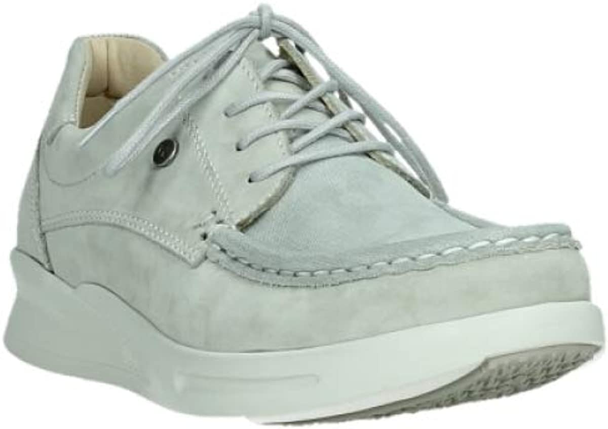Wolky Comfort Baskets One Nubuck Stretch Gris Clair 10206