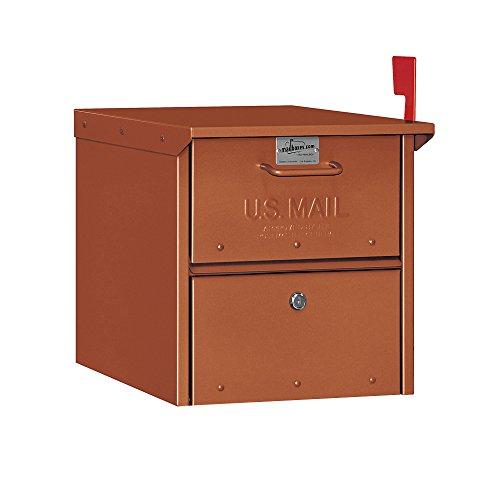- Salsbury Industries 4325D-COP Designer Roadside Mailbox, Copper