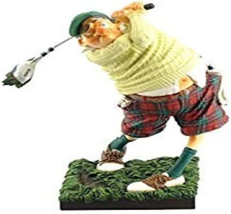 Guillermo Forchino FO84002 Golfer Figure The, Resin, Multi-Colour, 20 x 10 x 24 cm