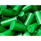 Lot of 30- 19 Dram Green Medical Pop Top Bottle -Rx Vial Herb Pill Box Container