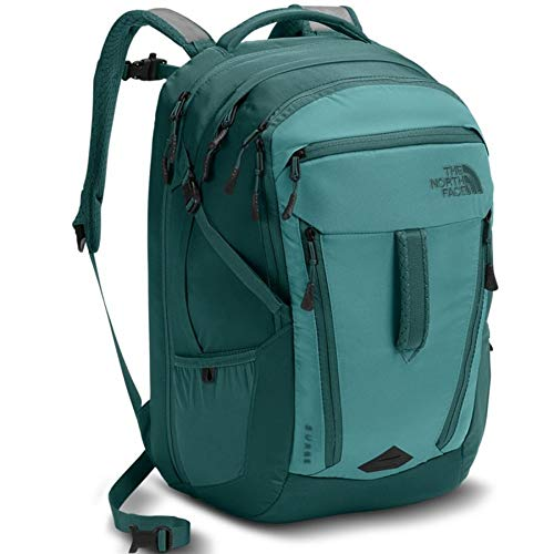e10b66d791 The North Face Women's Women's Surge Backpack Bristol Blue/Jasper Green One  Size