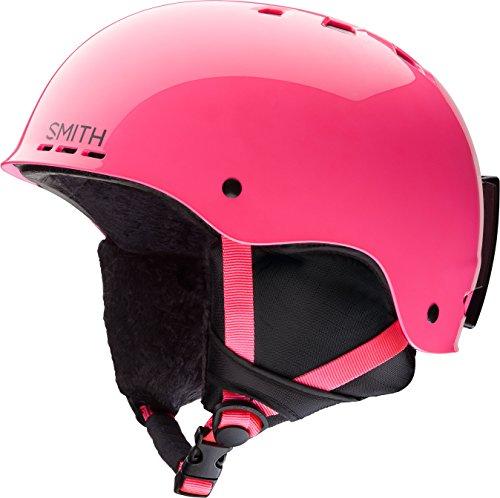 (Smith Optics Holt Jr Youth Ski Snowboarding Helmet - Crazy Pink)
