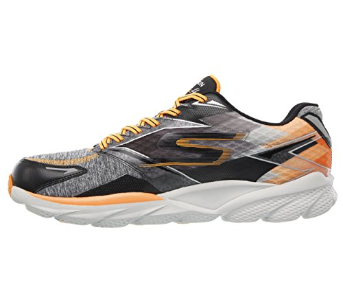 Skechers Mens Gorun Ride 4 Nyc Gris / Orange