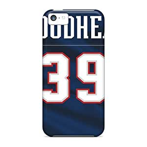 Daw374lNZw Tpu Phone Case With Fashionable Look For Iphone 5c - New England Patriots by mcsharks
