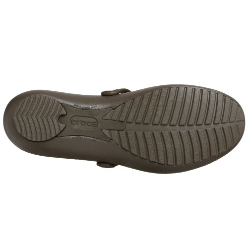 Sandales Style Crocs Janes Pour schokolade Braun Mary Femme B4wxxn6T