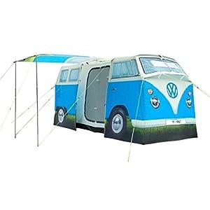 VW Camper Van 4 Man Tent, Official Volkswagen Waterproof Camping Tent, 1:1 Scale