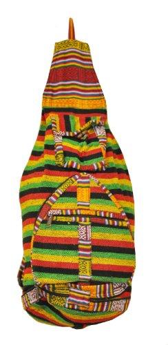 Bohemian Hippie Hemp Cotton Unique Sling Shoulder Backpack (Cotton Sling Shoulder Bag)