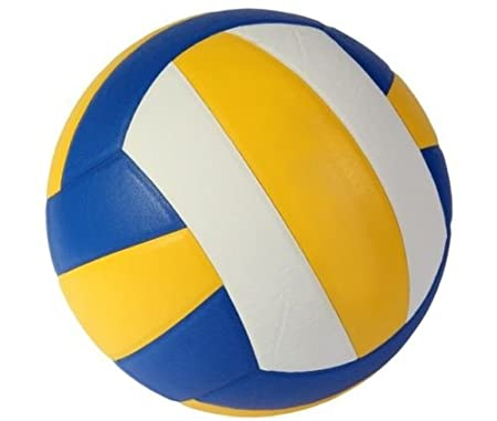 Virtuemart Pelota antiestres de Goma Espuma voley Colores: Amazon ...