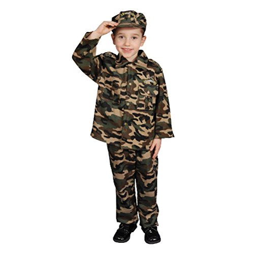 [Deluxe Army Set Costume] (Military Style Dance Costumes)