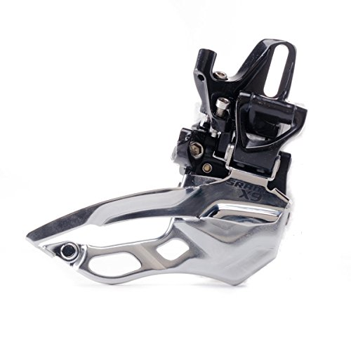 SRAM X9 Bicycle Front Derailleur with 3 x 10 High Direct Mount Top Pull