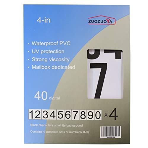 Premium Vinyl Number Stickers - 4