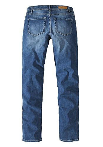 moustache Basic medium Donna Jeans blue 5930 straight Paddocks with w0qBCA0