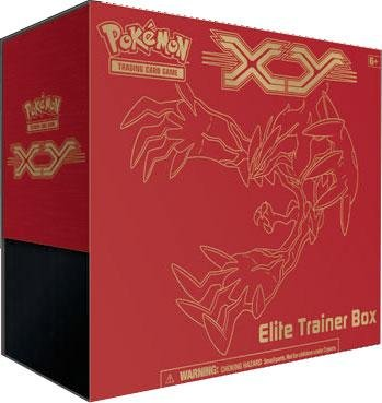 Pokemon Card Game X & Y Elite Trainer Box: Yveltal (Red Fat Pack) by Pokémon