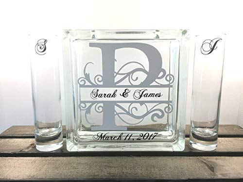 - Personalized Monogram Sand Unity Ceremony Set