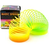 Magic Spring - Plastic Magic Spring Toy - Bouncy Stretchy Slinky Toys (Pack Of 2)