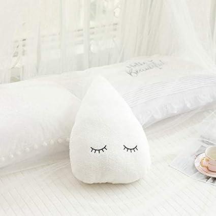 YOUHA Ins Cloud Moon Star Raindrop Plush Pillow Cojín Suave ...
