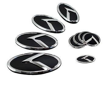 KIA K Logo Optima K5 3D Emblem 7pc SET by Cool Trade: Amazon.es: Coche y moto