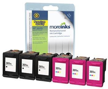 6 cartuchos de tinta Compatibles con impresora HP Deskjet 2050A ...