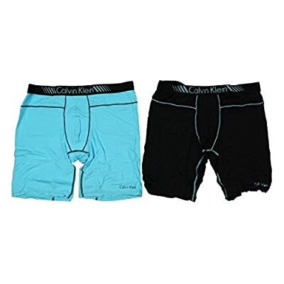 Calvin Klein Mens Cycle Short 2PK Boxer Briefs