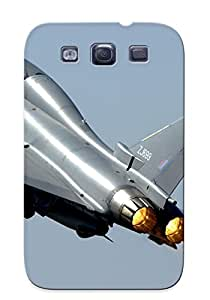 Exultantor Anti-scratch And Shatterproof Eurofighter Typhoon Phone Case For Galaxy S3/ High Quality Tpu Case